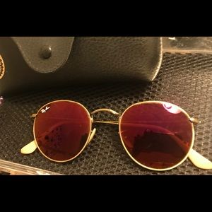 Ray-Ban Round Metal Mirror Sunglasses